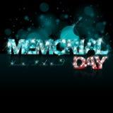 Abstracte Memorial Day -achtergrond Royalty-vrije Stock Afbeeldingen