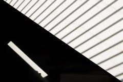 Abstracte mening van dakvenster met blind Royalty-vrije Stock Afbeeldingen