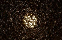 Abstracte mening van elektrische lamp vector illustratie