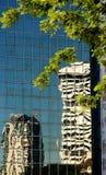 Abstracte mening van gebouwen Royalty-vrije Stock Afbeeldingen