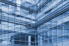 Abstracte mening van gebouwen stock foto's