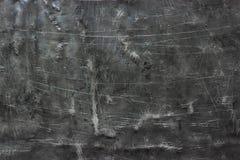 Abstracte metaalachtergrond, donkere sjofele ijzertextuur Royalty-vrije Stock Fotografie