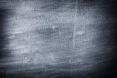Abstracte metaalachtergrond, donkere sjofele ijzertextuur Stock Foto