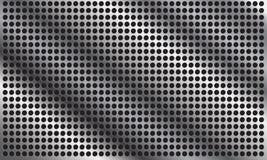 Abstracte metaalachtergrond met patern cirkel Royalty-vrije Stock Foto's