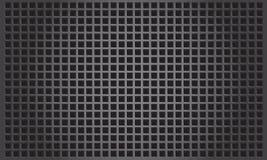 Abstracte metaalachtergrond met vierkante patern Vector Illustratie