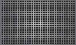 Abstracte metaalachtergrond met vierkante patern Royalty-vrije Stock Foto