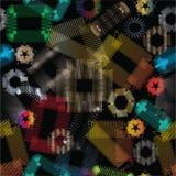 Abstracte metaalelementen Stock Afbeeldingen