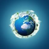 Abstracte milieuachtergronden Royalty-vrije Stock Afbeelding