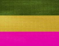 Abstracte mini vierkante mozaïekachtergrond met drie kleuren stock foto