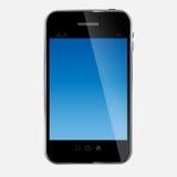 Abstracte mobiele telefoon vectorillustratie Stock Foto's