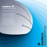 Abstracte moderne achtergrond. Vector. Royalty-vrije Stock Afbeeldingen