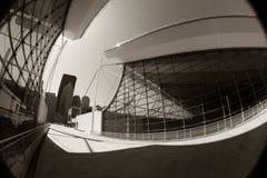 Abstracte Moderne Architectuur royalty-vrije stock foto's