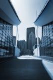 Abstracte Moderne Architectuur royalty-vrije stock foto