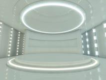 Abstracte moderne architectuurachtergrond het 3d teruggeven Royalty-vrije Stock Foto