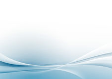 Abstracte moderne de lijnen van de swoosh witte grens lay-out als achtergrond Stock Fotografie