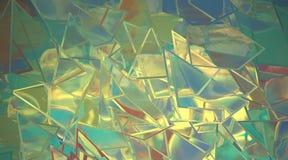 Abstracte moderne kunstachtergrond Royalty-vrije Stock Foto