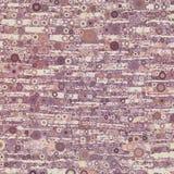 Abstracte moderne organische purpere en bruine geometrische achtergrond Royalty-vrije Stock Afbeelding
