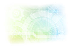 Abstracte moderne technische achtergrond Royalty-vrije Stock Afbeelding