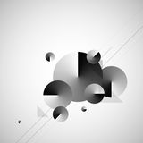 Abstracte Moderne Vector Als achtergrond stock illustratie