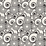 Abstracte modieuze achtergrond Naadloos Japans patroon Vectors stock illustratie