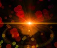 Abstracte modieuze lichten Stock Afbeeldingen