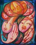 Abstracte Moeder stock illustratie