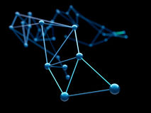 Abstracte Molecules Royalty-vrije Stock Foto