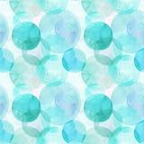 Abstracte mooie artistieke tedere prachtige transparante heldere kleurrijke van de het patroonwaterverf van cirkels verschillende Royalty-vrije Stock Afbeeldingen