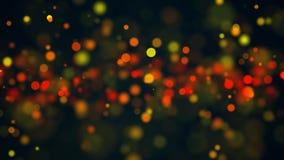Abstracte Mooie bokehachtergrond Digitale bacdrop Royalty-vrije Stock Afbeelding