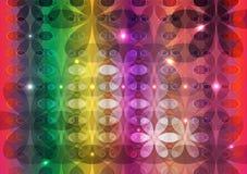Abstracte mooie patroonachtergrond stock illustratie
