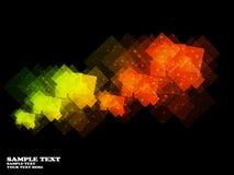 Abstracte motie grafische achtergrond Stock Illustratie