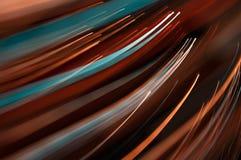 Abstracte motielijnen Stock Foto's