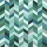Abstracte mozaïek blauwe achtergrond Stock Foto's