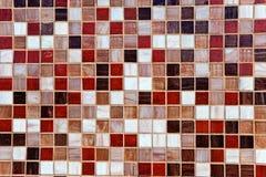 Abstracte mozaïekachtergrond Royalty-vrije Stock Afbeeldingen