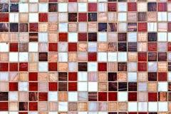 Abstracte mozaïekachtergrond Stock Foto