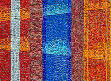 Abstracte mozaïekachtergrond Stock Afbeeldingen