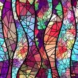 Abstracte mozaïekachtergrond Royalty-vrije Stock Afbeelding