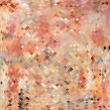Abstracte mozaïekachtergrond die van vierkanten en pastelkleurkleuren wordt gemaakt Royalty-vrije Stock Afbeelding