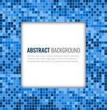 Abstracte mozaïekachtergrond met kleurrijke pixel Het Ontwerpmalplaatje van de partijuitnodiging Vector vector illustratie