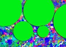 Abstracte multicolored achtergrond De gradiënt defocused abstracte achtergrond De textuur van de muur Stock Afbeeldingen