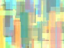 Abstracte multicolored achtergrond of textuur met overlappende geometrische vormen Stock Foto's