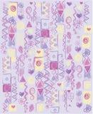 Abstracte multicolored achtergrond, vector Royalty-vrije Stock Afbeeldingen