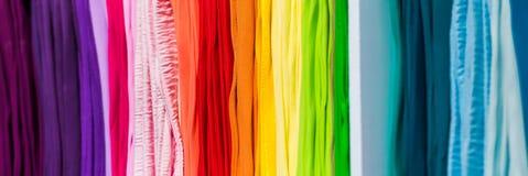 Abstracte multicolored iriserende kantfoto Royalty-vrije Stock Afbeeldingen