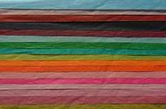 Abstracte multicoloured papieren zakdoekjeachtergrond stock fotografie