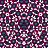 Abstracte multifinalster met patronen. Royalty-vrije Stock Afbeelding