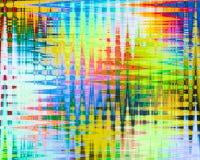 Abstracte multikleur als achtergrond Royalty-vrije Stock Afbeeldingen