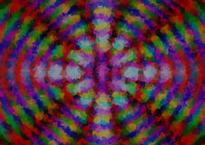 Abstracte multy kleurenachtergrond met patroon stock illustratie