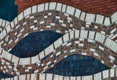Abstracte muur Royalty-vrije Stock Afbeelding