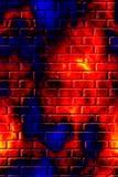 Abstracte muurAchtergrond Royalty-vrije Stock Afbeelding
