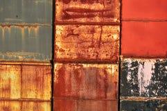 abstracte muurtextuur Stock Fotografie